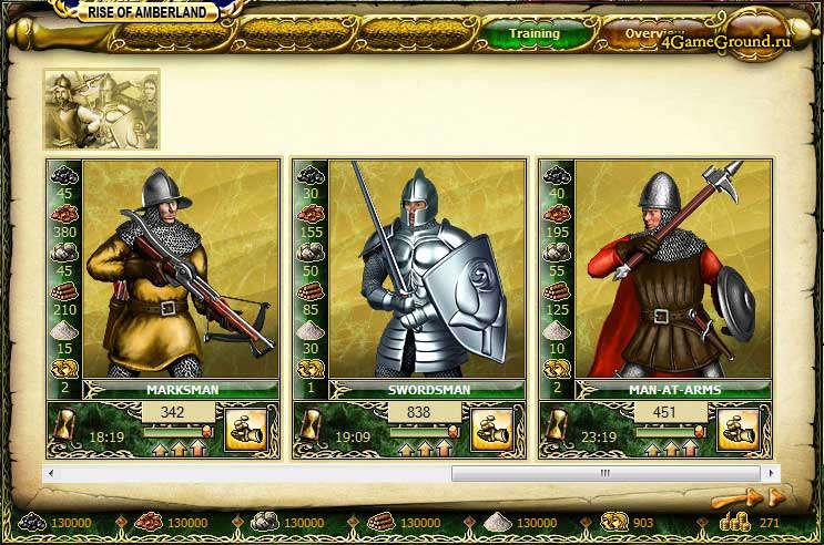1100 AD рыцари