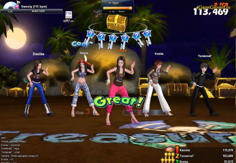Audition 2 танцевальный симулятор