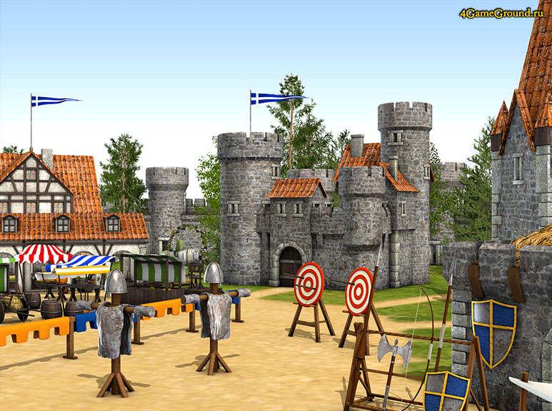 Тренировочная площадка для рыцарей