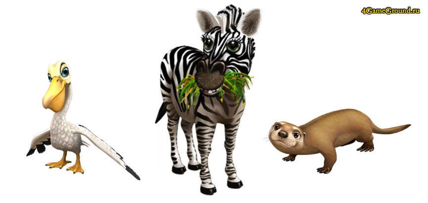 my free zoo игра про животных