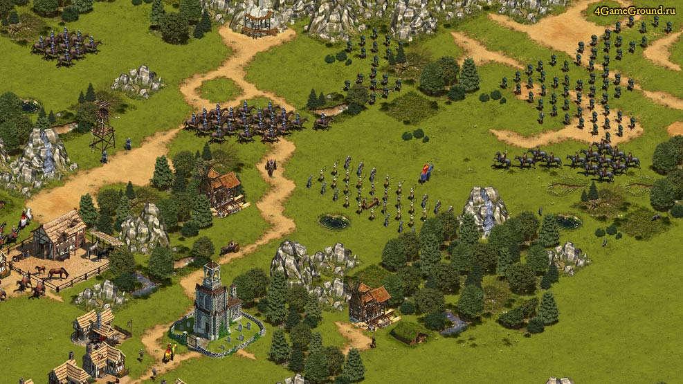Войска идут в атаку