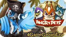 Angry Pets - лучшая игра по версии белочек!