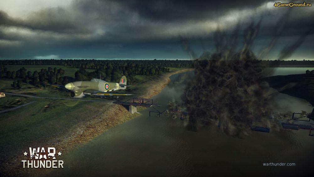 War Thunder - мост уничтожен