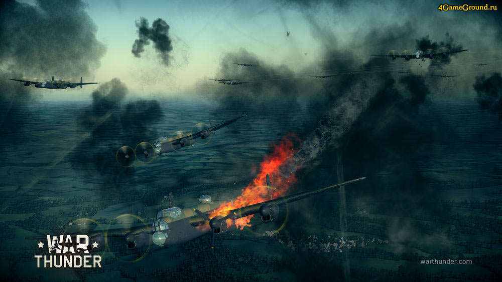 War Thunder - в гуще боя