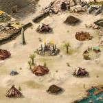 Пустынный город с Великой Пирамидой