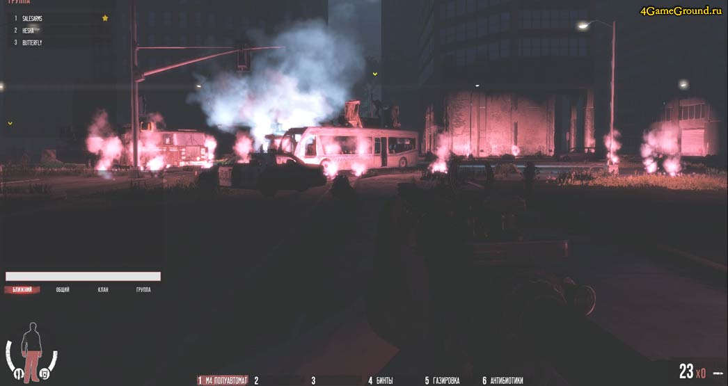 the War Z - ночная схватка