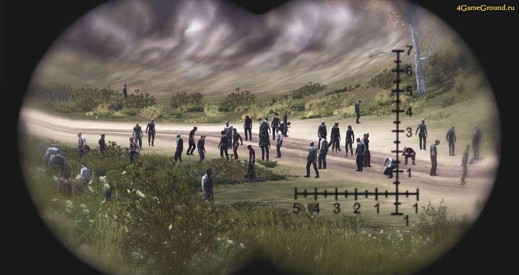 Зомби на прогулке