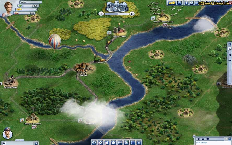 Онлайн стратегия железная дорога русские рпг онлайн игры