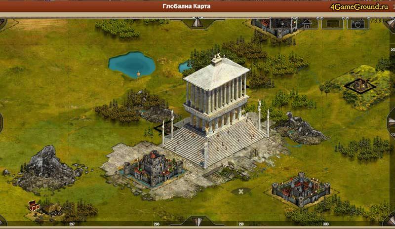 Imperia online - возведение храма