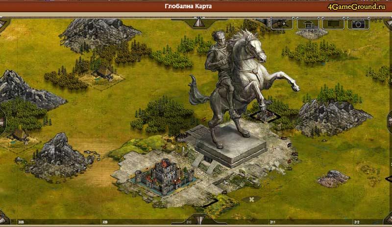 Imperia online - монументальность творений