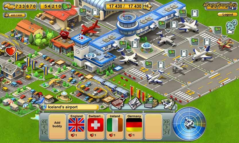 игра аэропорт экономическая
