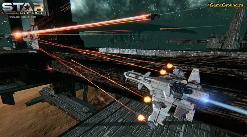 Star Conflict - база противника