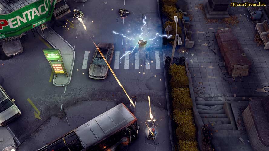 Merc Elite - престрелка на улицах города