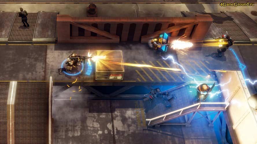 Merc Elite - битва на фабрике