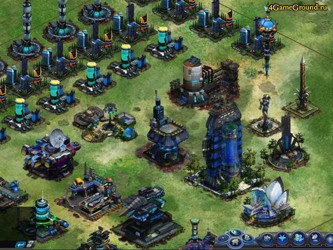 Galaxy Online 2 - развитая база
