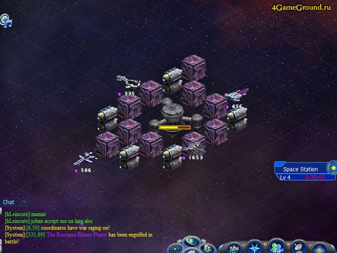 Galaxy Online 2 - ваша база в космосе