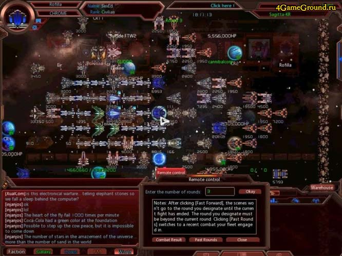 Galaxy Online 2 - ваш звёздный флот