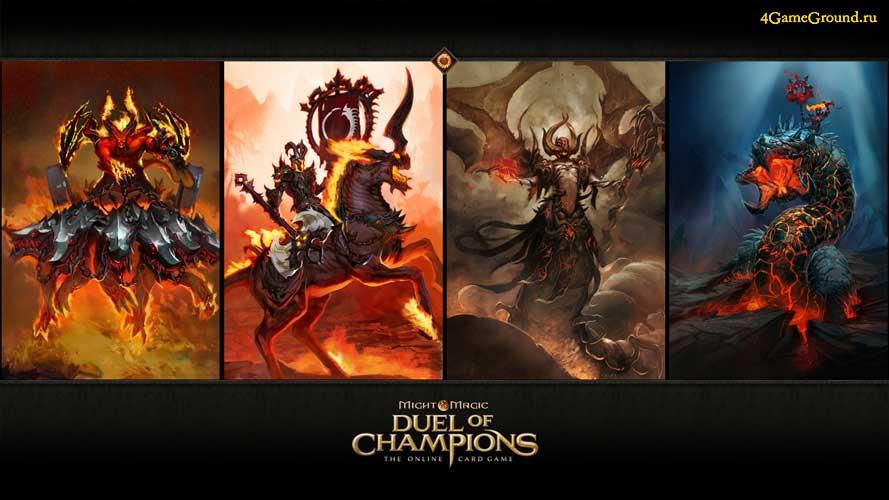 Персонажи в Might & Magic: Duel of Champions