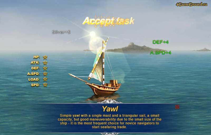 Ял - идеальное судно для разведки