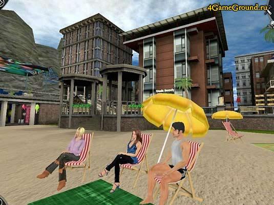 Love City 3D - на пляже