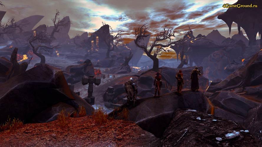 Neverwinter - пустынные земли Faerun