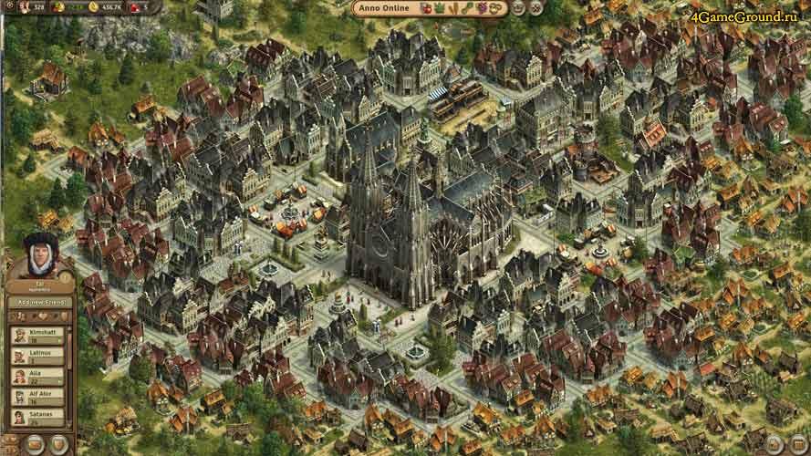 Anno online - столица империи