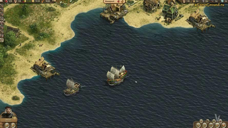 Anno online - торговля с колониями