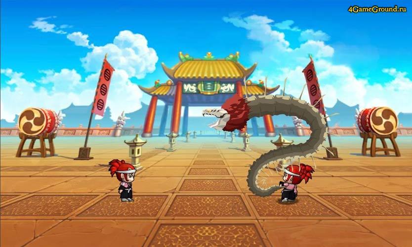 Ninja Wars 2 - бой на арене