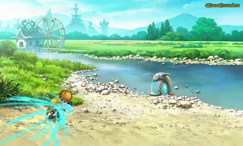 Ninja Wars 2 - битва на берегу реки