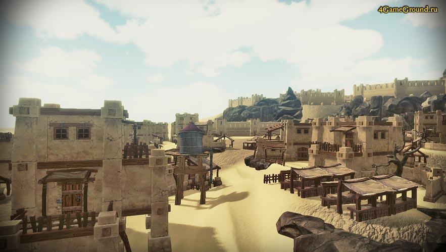 Steam Battle - мир пустыни