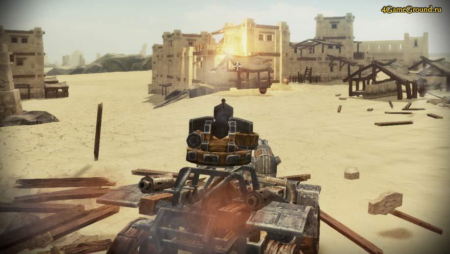 Steam Battle - битва в посёлке