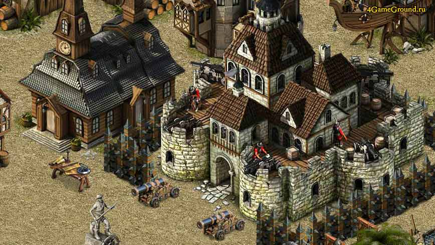 Кодекс Пирата - крепость