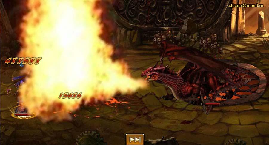 Легион Мёртвых - уничтожение огнём