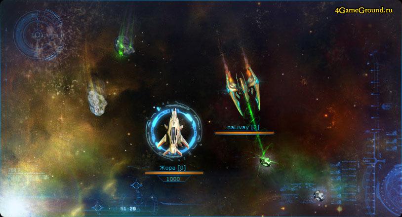 StarGhosts - ваш звездолёт в космосе