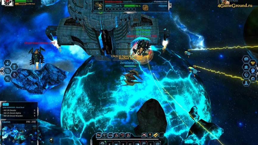 Andromeda - космическая база