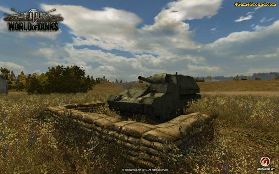 World of Tanks - САУ готова к бою