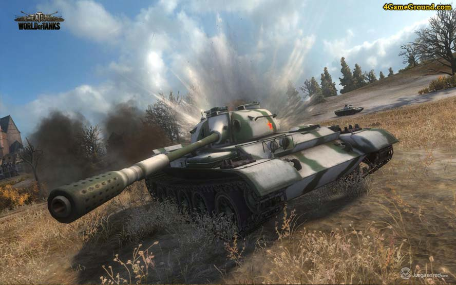 World of Tanks - Т-55 в поле