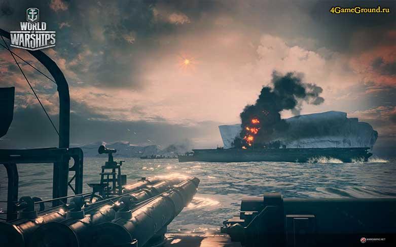 World of Warships - цель уничтожена