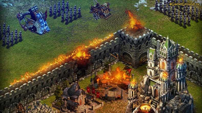 Войны Престолов - оборона замка