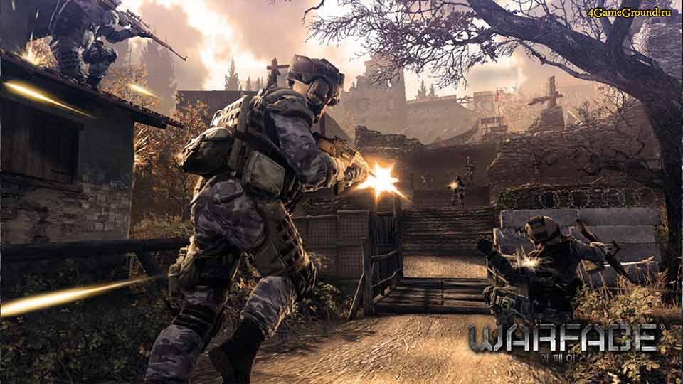 Warface - стреляй врага!