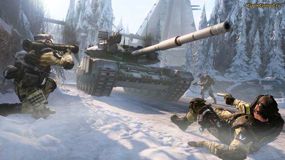 Warface - вражеский танк