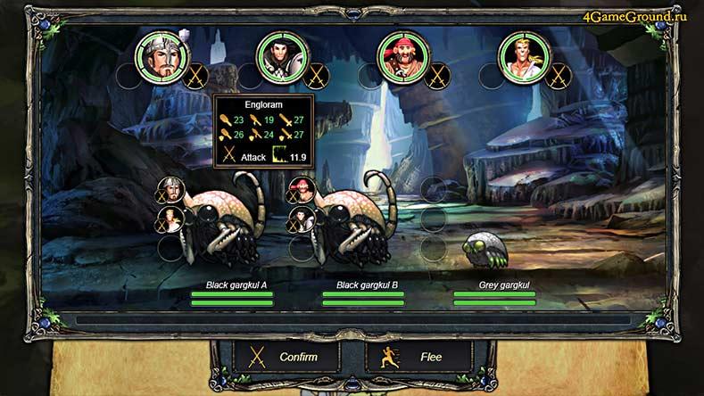 Therian Saga - выбор противника