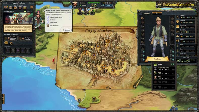 Therian Saga - город