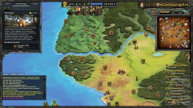 Therian Saga - карта мира