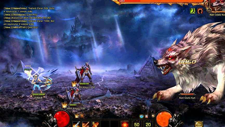 Legend 2 Online - бой с боссом
