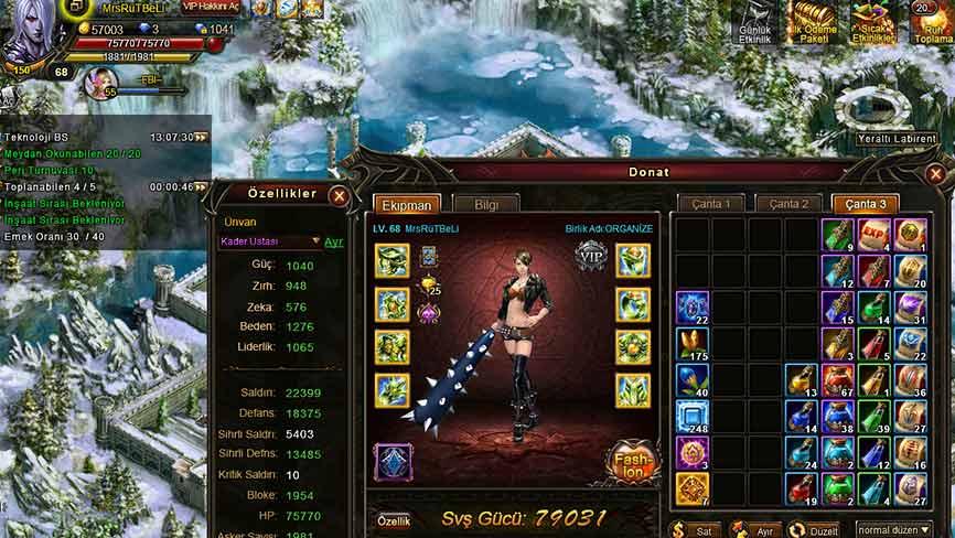 Legend 2 Online - ваше персонаж