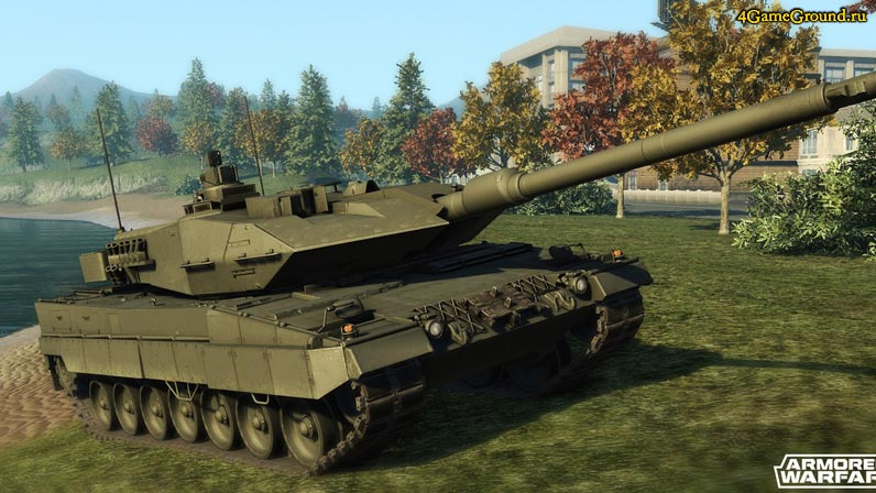 Твой танк в Armored Warfare