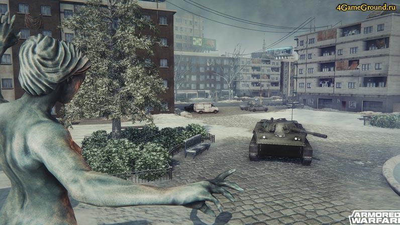 Городские боестолкновения  - Armored Warfare: Проект Армата