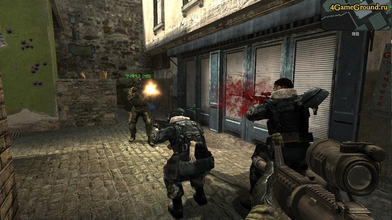 Прикрой своих в бою - A.V.A. Online