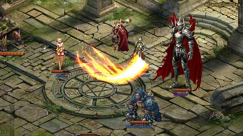Уничтожь демонов Ада - Легенда Рыцаря